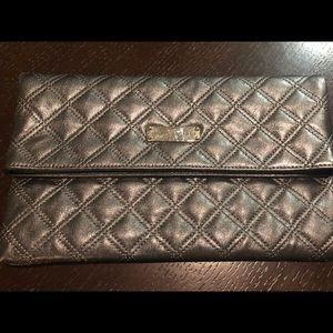 Marc Jacobs Silver Clutch